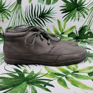 Steve Madden HITTER gray sneakers sz 12